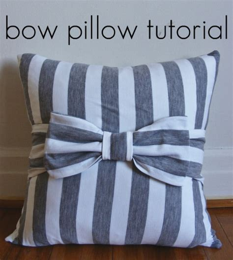Bow Pillow Pattern by Bow Pillow Tutorial