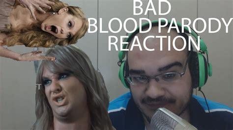 taylor swift bad blood reaction bart baker bad blood parody reaction taylor swift ft