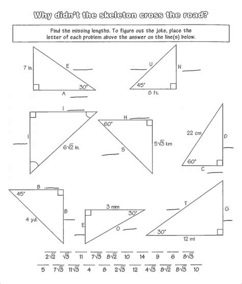 Free Math Worksheets For High School Geometry high school geometry worksheets template business