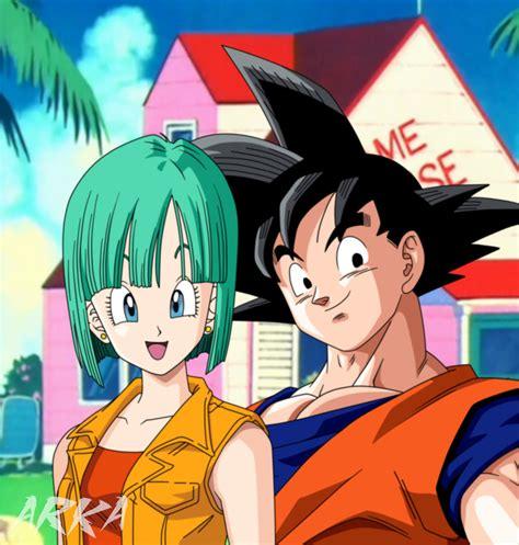 Imagenes De Goku X Bulma | goku x bulma by cffc2010 on deviantart