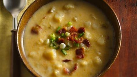 slow cooker cheesy potato soup recipe from betty crocker
