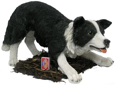 border collie ornaments border collie sheepdog resin garden ornament 163 79 99