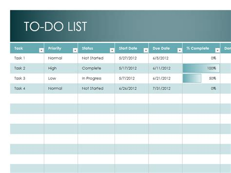 to do spreadsheet template to do list template excel spreadsheet to do list template