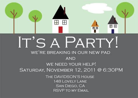 printable house party invitations house warming party invitation