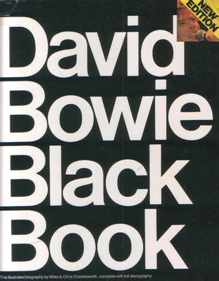 david bowie black book  illustrated biography  chris