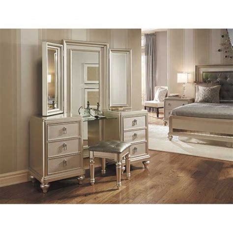 Bedroom Set With Vanity Dresser Vanity Dresser Mirror Set 8808 Vanity Samuel Afw