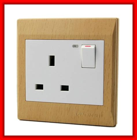 electric switches company electric wall switch socket power socket vp301ml vpon china manufacturer socket