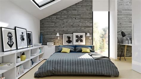 modern bedroom ideas for bright modern loft bedroom design and decor ideas