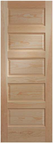 raised panel closet doors 5 panel clear pine craftsman raised panel stain grade solid interior doors ebay