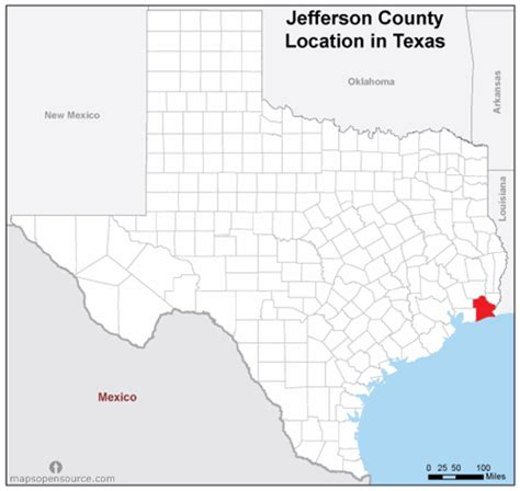 map of jefferson texas free and open source location map of jefferson county texas mapsopensource