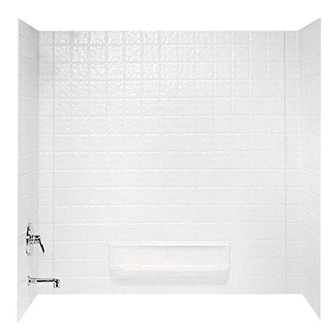 swanstone bathtub reviews buy cheap swanstone ti 3 010 veritek three panel tub wall