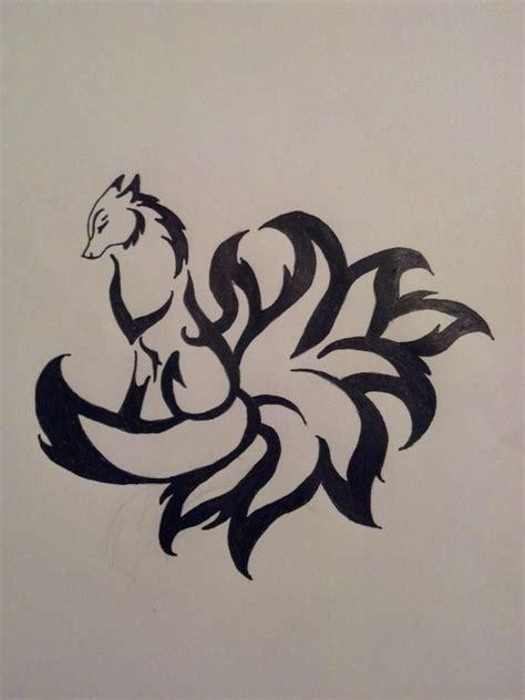 9 tailed fox tattoo 9 fox by pipmyster on deviantart