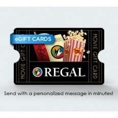 Regmovies Gift Card Balance - gift cards e gift card regal corporate box office
