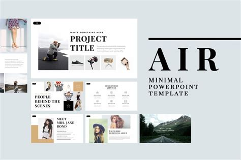 Powerpoint Design Minimalist | 25 best minimal powerpoint templates 2018 design shack