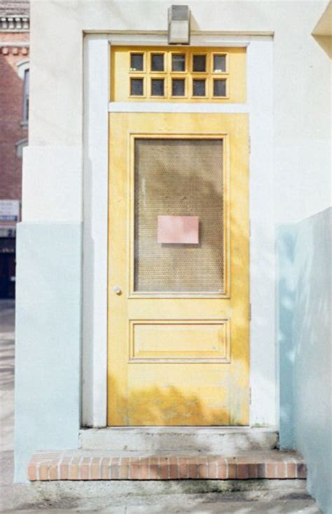 mustard front door 45 best images about if we had a blue house on pinterest