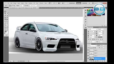 Photoshop Car Tuning by Photoshop Cs5 Tutorials Tuning And Pimping