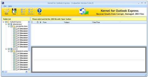 Outlook Email Search Tool Outlook Express Inbox Repair Screenshot X 64 Bit