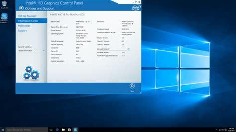 opengl driver update intel intel broadwell iris pro graphics windows 10 vs linux