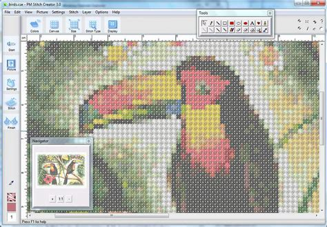cross stitch pattern maker free mac stoik stitch creator photo manipulation software 35