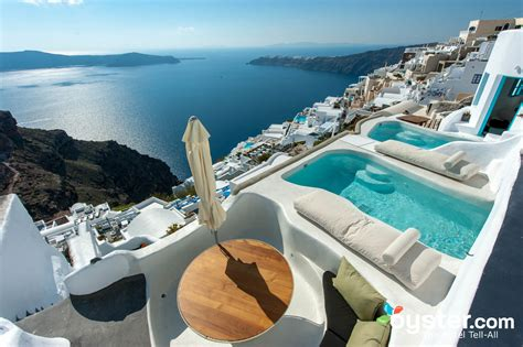 best luxury hotels santorini best santorini hotels with plunge pools oyster
