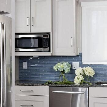 blue and white tile backsplash blue glass tile backsplash contemporary kitchen hgtv