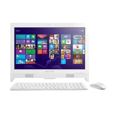 Pc Aio Lenovo 310 20iap Okid 1 jual lenovo ic 310 20iap 0kid all in one desktop pc white j3355 4 gb 500 gb win 10 19 5