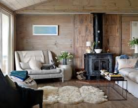 Decorated Homes Interior Modern Scandinavian Beach House Decorated With Washed Wood
