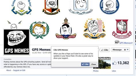 Gps Meme - brisbane private school students take to facebook in