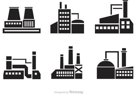 factory icon download free icons vector factory silhouette icons download free vector art