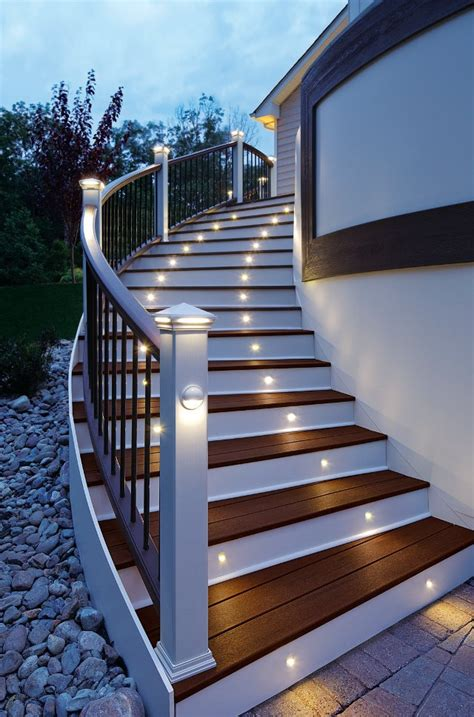 Trex Outdoor Lighting Trex Deck Lighting Available At Kuiken Brothers In Nj Ny Kuiken Brothers