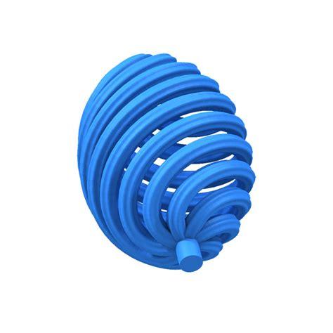 vortex egg support  model  printable stl cgtradercom