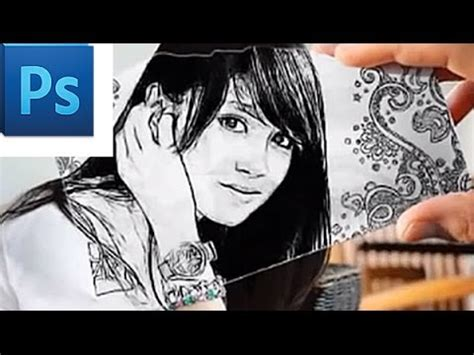 tutorial sketchbook kartun idtuts nabilah jkt48 kartun pencil sketch photoshop