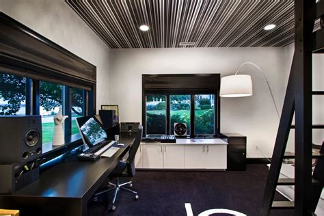modern home office design with black and white 21 black and white home office designs decorating ideas