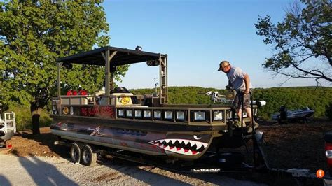 ams bowfishing boat lights bowfishing from a pontoon boat google search