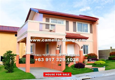 camella silang house and lot near tagaytay city camella silang tagaytay carina house and lot for sale in