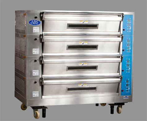 Oven Deck 3 pan electric deck ovens for ultimate flexibility american baking systems