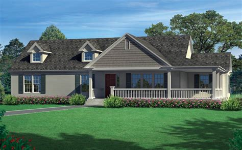 one story ranch tanner ridge modular home floor plan