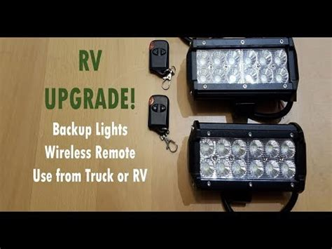 adding lights to trailer adding led backup lights to an rv or trailer