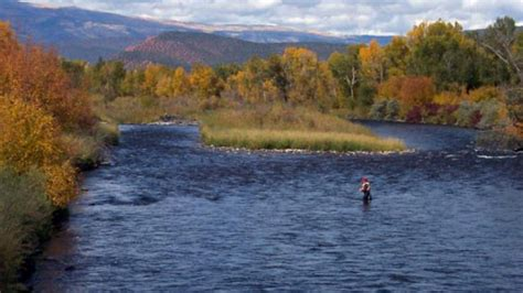 fly fishing colorado s roaring carbondale vacations activities things to do colorado