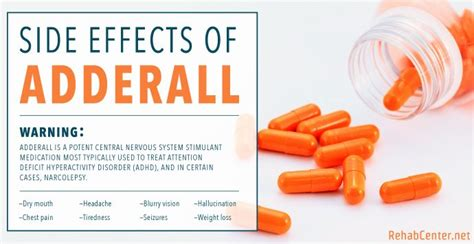 Adderall Detox Facilities by Side Effects Of Adderall