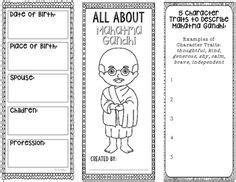 gandhi biography for middle school henry ford coloring page craft or poster stem technology