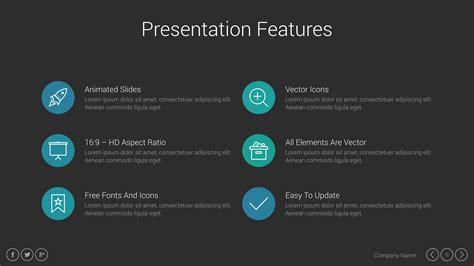 marketing pitch deck keynote presentation template by