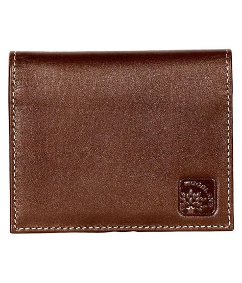 Leather Prices by Woodland Brown Leather Wallet For Buy At Low
