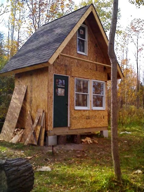 plans for cabins small rustic cabin plans homesfeed