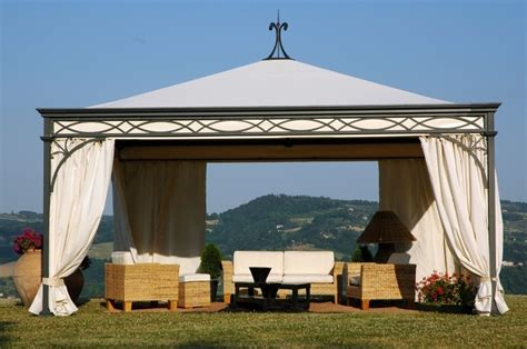 canopy gazebo buy malatesta wrought iron gazebo with canopy
