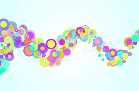 colorful modern circles powerpoint templates abstract colorful background circles on a white background stock photo colourbox