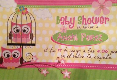 hacer tarjetas de baby shower de buho baby shower de b 250 hos decoraci 243 n y recuerdos baby