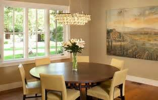Kitchen Table Decorating Ideas Pictures Yellow Leather Chairs And Wooden Round Table For