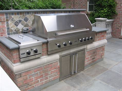 custom backyard bbq grills outdoor kitchen bbq design installation bergen county nj