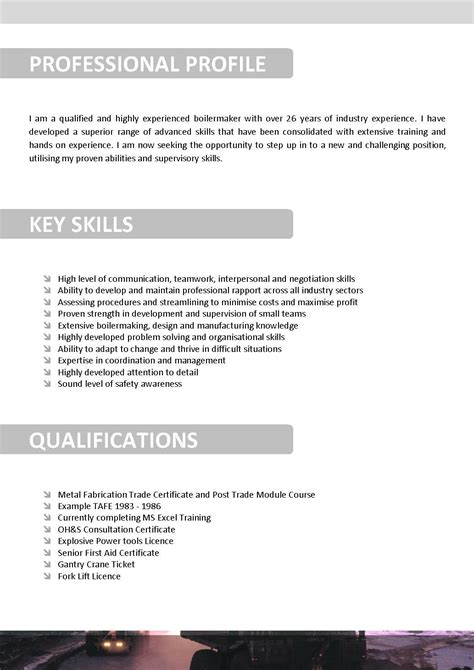 mining resume template 076